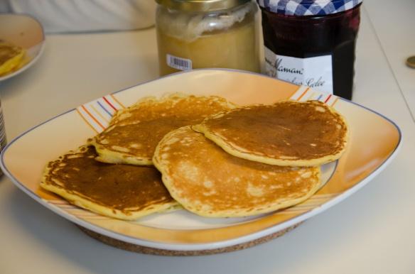 Pancakes sind fast weg!